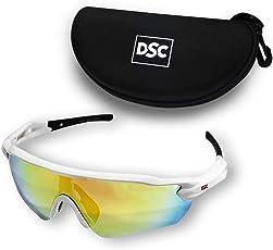 DSC Glider Polarized Cricket Sunglasses (Multicolour)