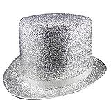 Dress Up America Deluxe Silber Top Hut für Erwachsene