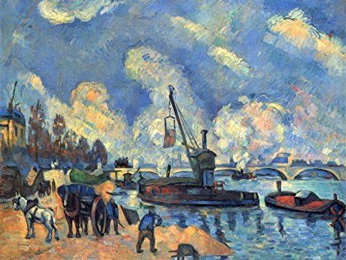 Lais Puzzle Paul Cézanne - La Seine à Bercy, Bercy, Bercy, Peinture d'ArFemmed Guillaumin 1000 Pieces | économique Et Pratique  7ee379