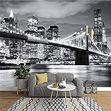 Papel Pintado Mural FotoPhoto Wallpaper Brooklyn Bridge New York Designer Wall Mural Vinyl Wallpaper Papel De Parede Adesivo 3D Wallpaper