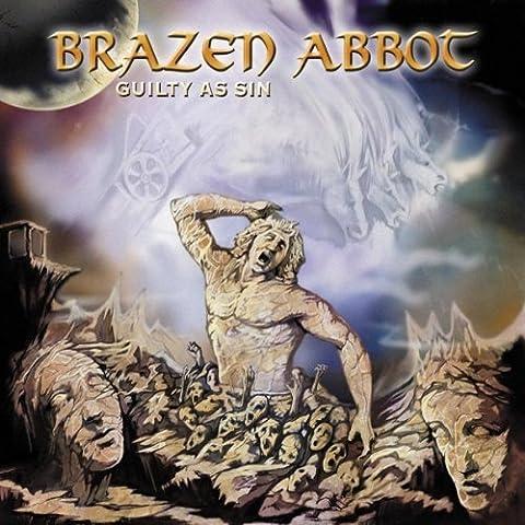 Guilty As Sin by Brazen Abbot (2003-07-28)