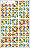 Trend Beaming Rainbows Reward Stickers
