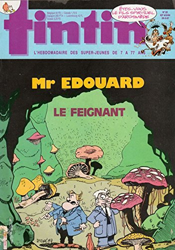 Tintin n° 611 - 26/05/1987 - Mr Edouard...