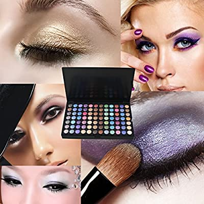 DISINO Eye Shadow Makeup Palette,252 Color Eyeshadow Palette Eye Shadow Makeup Kit Set Make Up Professional Box by DISINO