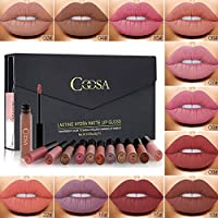 Rechoo Rossetti 12 Pcs Matte Rossetto Lunga Durata Impermeabile Liquid Lipstick Make Up Revolution
