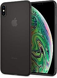 Spigen Air Skin Serisi Kılıf iPhone XS Max ile Uyumlu / Ultra İnce 4 Tarafı Tam Koruma - Black