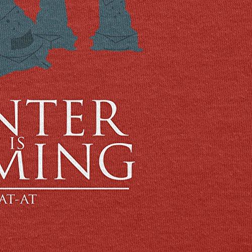 Texlab–At At Winter Is Coming–sacchetto di stoffa Rot