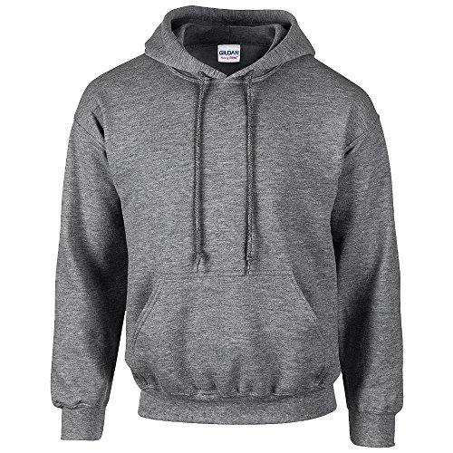 Gildan - Unisex Kapuzenpullover 'Heavy Blend' / Graphite Heather, XL