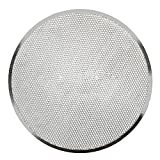 Plaque de cuisson à pizza en aluminium avec grille plate en maille pour four 14 inch...