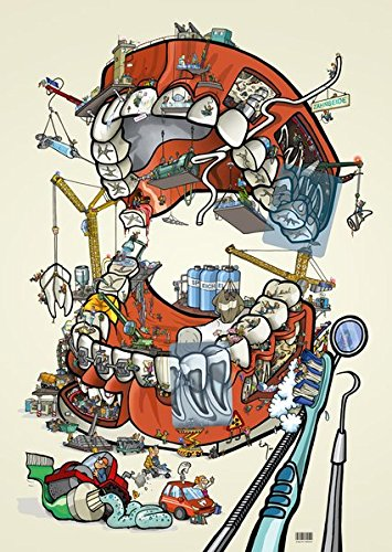 Human Mouth Project Cartoonposter