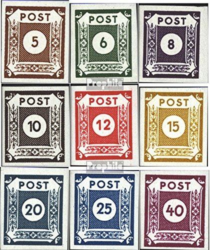 Prophila Collection Soviet Zone (Allied.Cast.) 42A 1945 Numeri di serie (Francobolli per i collezionisti)