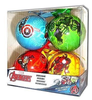 Disney Juego de 4 bolas de navidad de DISNEY