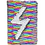 ShopNGift Stylish Sequence Bling Personal Notebook Diary Small Mermaid Sequin Colour Changing 1 Qty