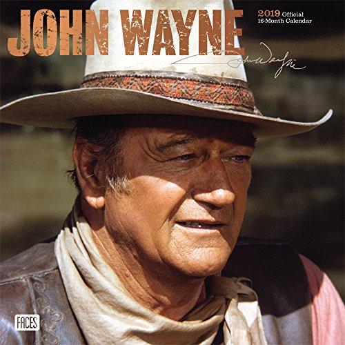 John Wayne 2019 - 18-Monatskalender: Original BrownTrout-Kalender por Inc Browntrout Publishers