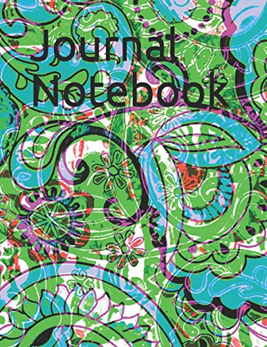 Journal Notebook: 180 College Ruled Lined Pages - Large Size 8.5