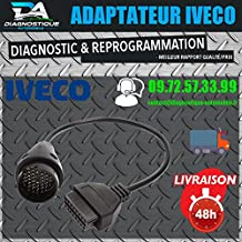 Mister diagnóstico ® Cable Adaptador Diagnóstico OBD OBD2a 38pins Iveco Daily conector Obdauto