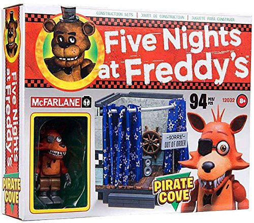 Image of Five Nights at Freddy's Pirate Cove McFarlane Construction Set