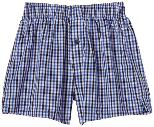 Schiesser Jungen Boxershorts 139162, Gr. 140 (Herstellergröße: 140 (8-9Y)), Blau (803-dunkelblau)