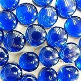 MosaixPro 18–20mm 100g 20Glas Nuggets, schillernd, blau