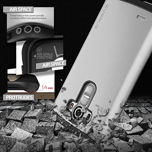 Verus Thor harte Bumper Schutzhülle für Apple iPhone 6 Electric Blue Silber