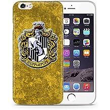 """iPhone 7 Casas de Harry Potter Estuche de Silicona / Cubierta de Gel para Apple iPhone 7 (4.7"""") / Protector de Pantalla y Paño / iCHOOSE / Hufflepuff"""