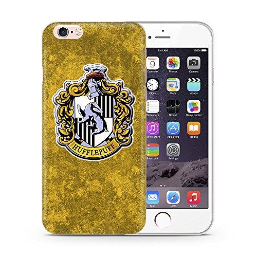 iPhone 7 Case di Harry Potter Cassa del Silicone / Copertura del Gel per Apple iPhone 7 (4.7) / Protezione dello Schermo e Panno / iCHOOSE / Grifondoro Tassorosso