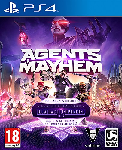 Agents of Mayhem PS4 Day One Edition