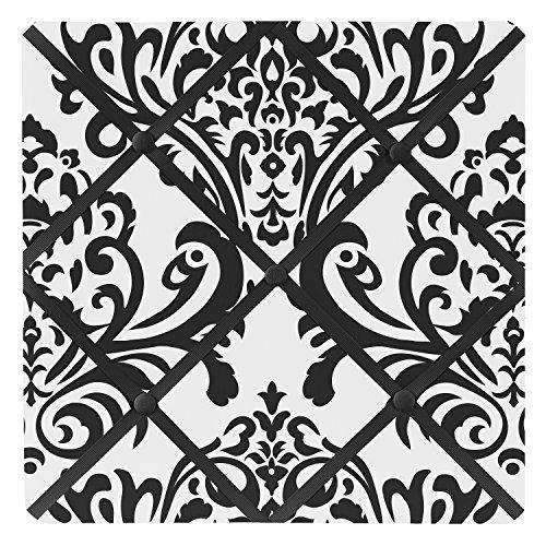 Noir et blanc Isabella Tissu de mémoire/Memo Photo Tableau d'Affichage