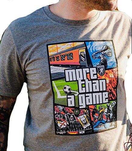 PG Wear Herren T-Shirts S bis XXXL MORE THAN A GAME GRAU