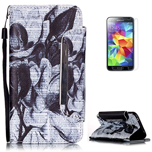 kasehom-premio-pelle-portafoglio-custodia-per-samsung-galaxy-s5-i9600-moda-unico-colorato-modello-pr