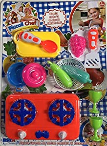 Rstoys - Ronchi Supe-Blister Hornillo pequeños Chef,, 3.st10304