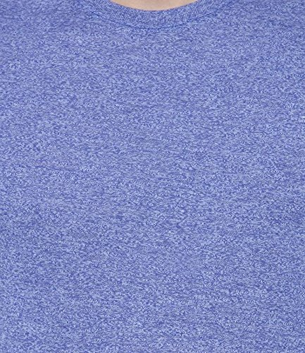 B&W Men's Premium Grindle Round Neck T-Shirt - Royal Blue 2