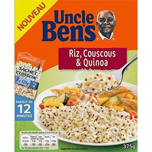 Uncle bens sachet cuisson riz long couscous quinoa 10 min 375g - ( Prix Unitaire ) - Envoi Rapide Et Soignée
