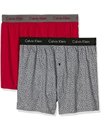 Calvin Klein Herren Boxershorts 2p Slim Fit Boxer, 2er Pack