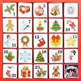 English Tea Shop - Advent Calendar - Christmas Ornaments - 50g