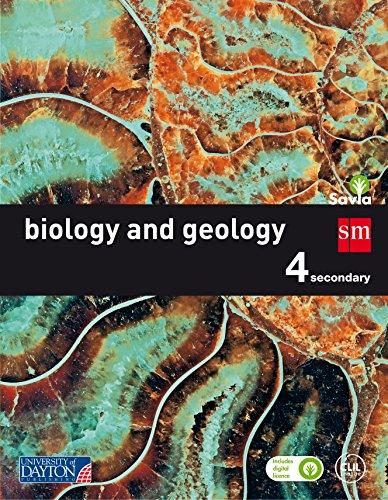 Biology and Geology. 4 Secondary. Savia