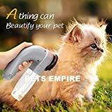 Pets Empire Electric Pet Hair Remover Suction Device For Dog Cat Dirt Removal Pet Massager Brush Pet Hair Eraser Handheld Vacuum System