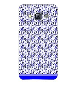 Printdhaba Typography D-1820 Back Case Cover For Samsung Galaxy A3