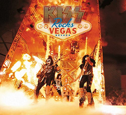 Kiss: Rocks Vegas - Live At The Hard Rock Hotel [DVD+2CD] [UK Import] (Kiss-live-cd)