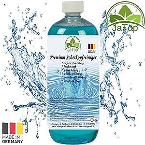JaTop Recharge de nettoyant liquide pour têtes de rasage Convient pour les cartouches de nettoyage Braun CCR ou équivalentes 1000ml