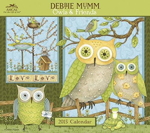 Debbie Mumm - Owls & Friends 2015 Calendar - Kalender Debbie Mumm 2015