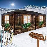 Deuba Pavillon Almhütte Skihütte 3x6m