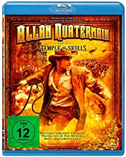 Allan Quatermain And The Temple Of Skulls [Blu-ray]