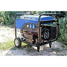 Generador electrico de gasolina arranque automatico 7500W grupo 7,5Kw motor 4T