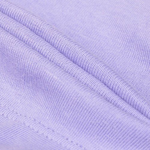 Delimira Damen Vollschalen BH - Baumwolle,Ohne Bügel,Wide Träger,Ohne Einlagen Violett