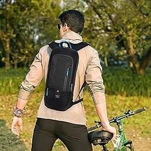 Mochila Ciclismo Esquiar Ligero Resistente al agua Respirable Bicicleta Al aire libre Deportes Pequeña Equitación Excursionismo Viajar - 8 litros