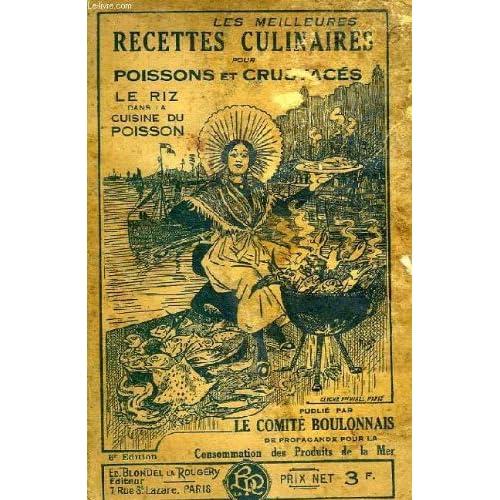 Les meilleures recettes culinaires pour poissons et crustaces