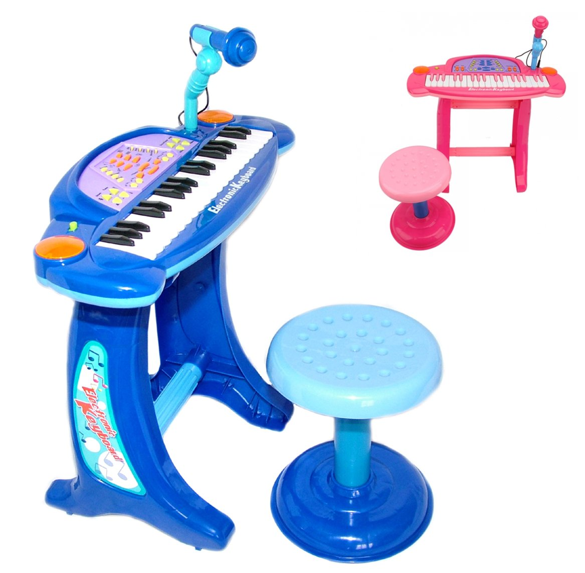 Playtech Logic Childrens Recording Karaoke Electronic Keyboard Piano - Electric Keyboard with Lights for Boys Girls - Mega Music Station - 36 Keys - 32 ...  sc 1 st  Amazon UK & Playtech Logic Childrens Recording Karaoke Electronic Keyboard ... islam-shia.org