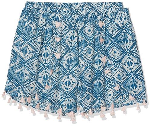 dorothy-perkins-womens-tile-print-shorts-multicoloured-multi-bright-14-manufacturer-sizemedium