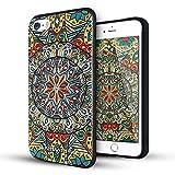 iPhone 5 hülle,iPhone 5s hülle,iPhone se hülle,Lizimandu TPU 3D Handyhülle Muster Case Cover Für iphone5/5s/5se(Mystic kompass/Mystic compass)